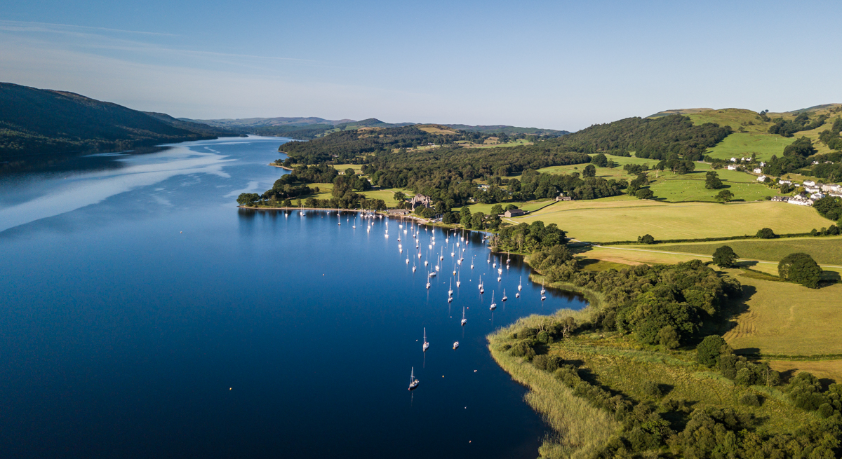 Lake Coniston aerial 1