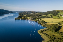 Lake Coniston aerial 1