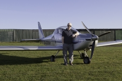 8 David and plane